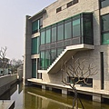 新竹縣峨嵋鄉二泉湖畔咖啡民宿牆面造型.jpg