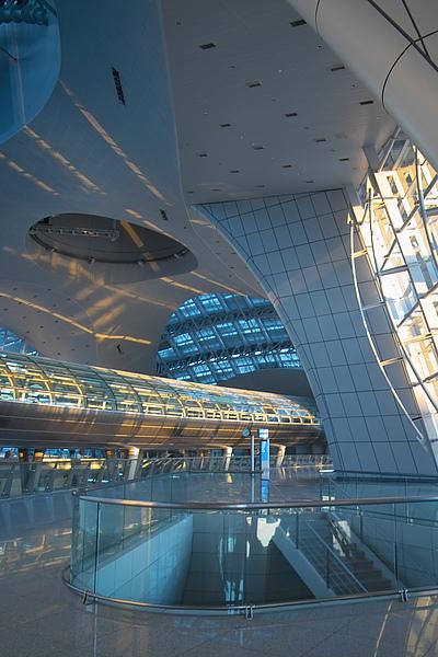 韓國仁川機場新建築內貌2.jpg