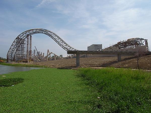 台南縣新市鄉台南園區南入口意象景觀 (5).JPG
