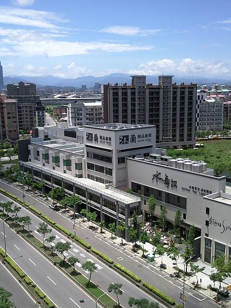 台北市沐蘭精品旅館大直店空照.jpg