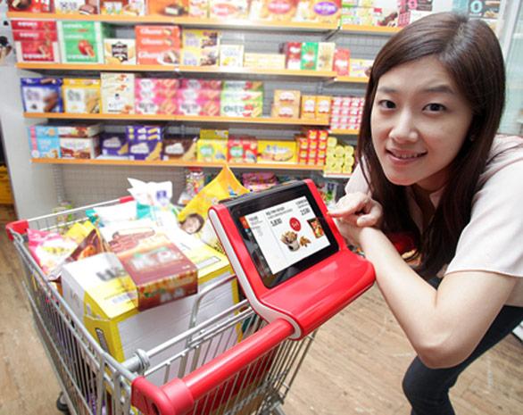 SK 電訊在中國推出智慧購物車無線服務