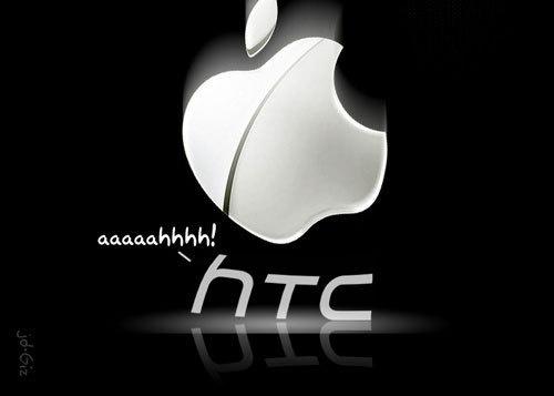 apple-logo-dropping-down-on-htc-logo