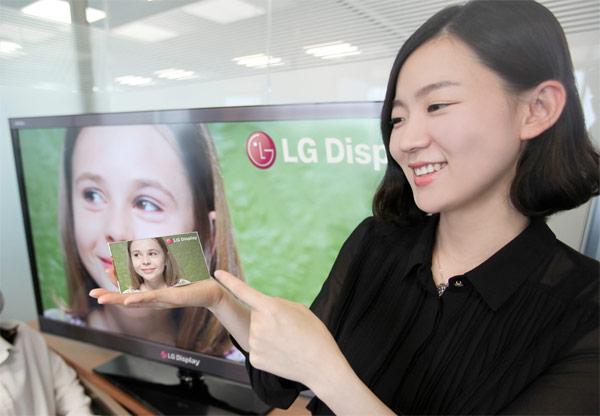 LG顯示器亮相5英寸視網膜1080p高清分辨率和440ppi的像素密度顯示殺手