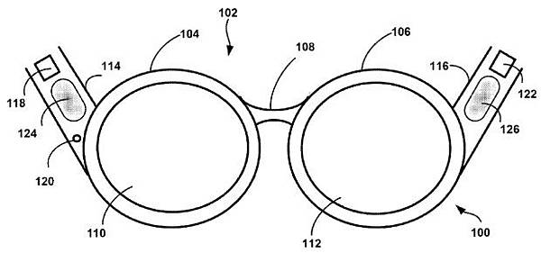 Google 申請在眼鏡上搭載骨傳導音訊裝置之專利