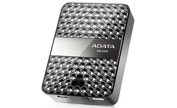 ADATA 推出多功能裝置 Dash Drive Air AE400,可以用來充電、串流媒體、作無線熱點