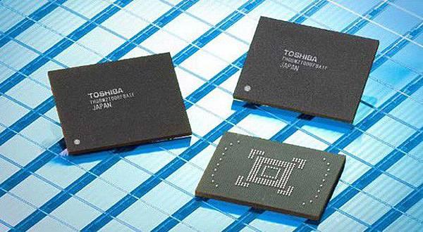 Toshiba mobile RAM