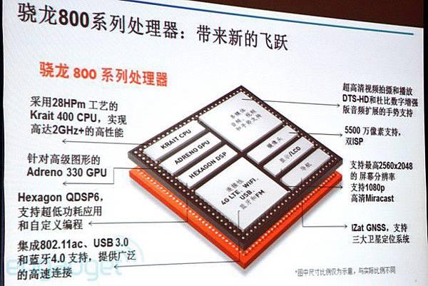 高通 Snapdragon 800 處理器將於五月末開始大規模生產