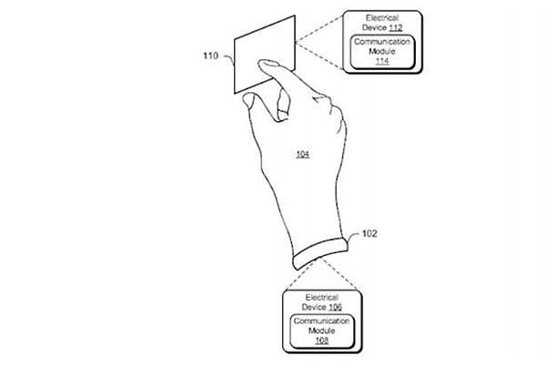 Microsoft 註冊了一款可用人體作為傳送資料媒界的專利