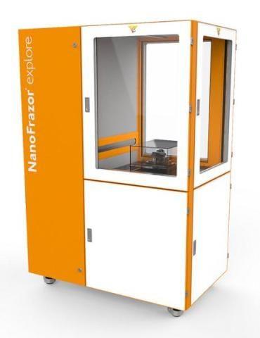 3D列印機的加熱機制長700nm,但探頭半徑僅10nm