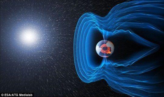 科學家最新發現,地球南北極磁場倒轉的速度可能快得超出想象,只需要100年左右。