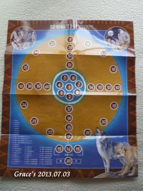 醫藥輪之聖靈-圖表