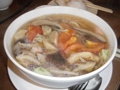 素什錦湯麵1