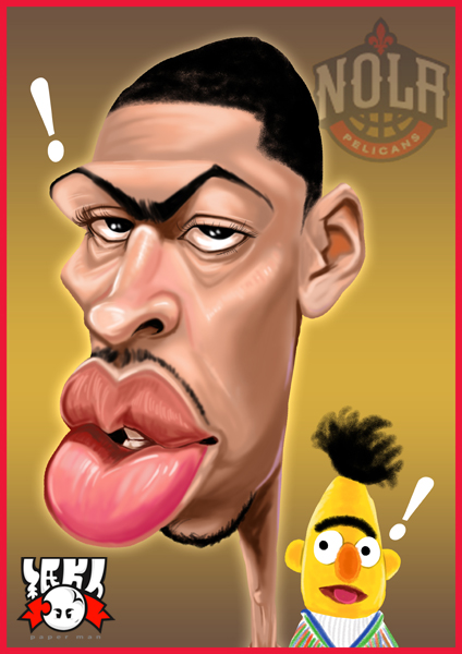 一眉道長 Anthony Davis