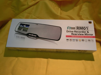 FLYone RM01 後視鏡行車記錄器