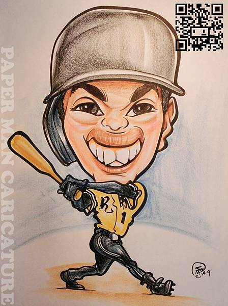 中職史上最年輕的全壘打打者  陳子豪
