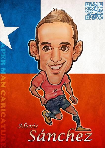 智利代表 亞歷克西斯(Alexis)