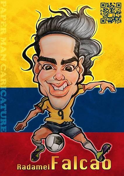 哥倫比亞代表 法卡奧(Falcao)