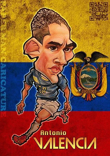 厄瓜多代表 瓦倫西亞(Valencia)