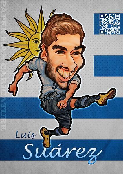 烏拉圭代表 蘇亞雷斯(Suarez)