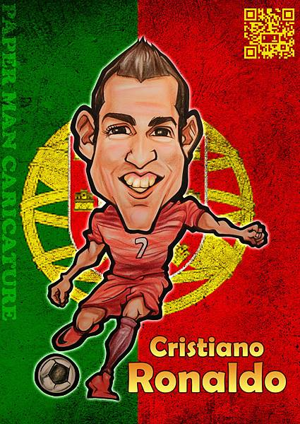 葡萄牙代表 C羅(C. Ronaldo)
