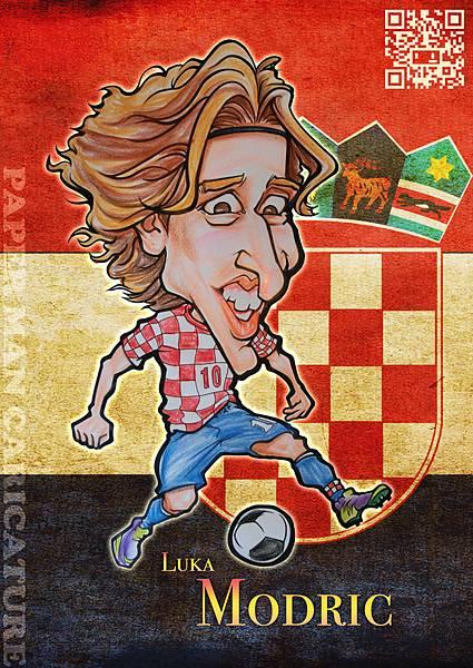 克羅埃西亞 Luka Modrić