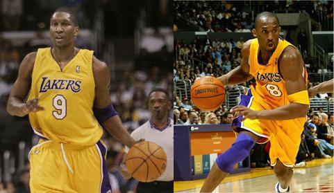 Laron Profit & Kobe Bryant