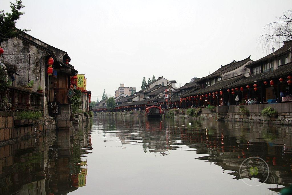 上海市金山區的楓涇古城