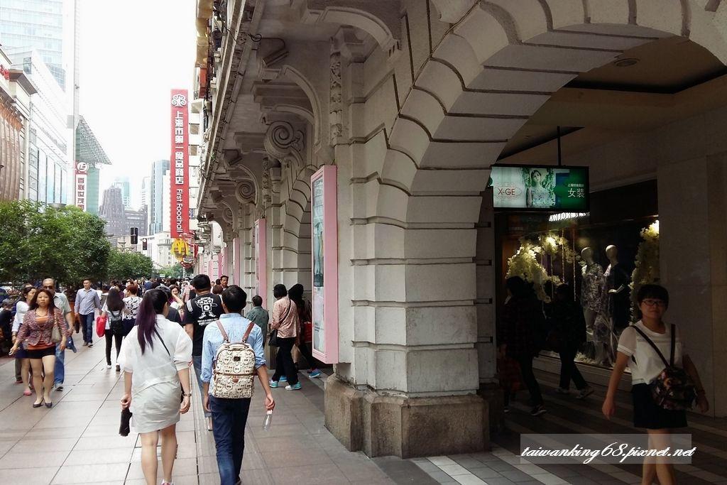 上海黃埔江外灘南京東路