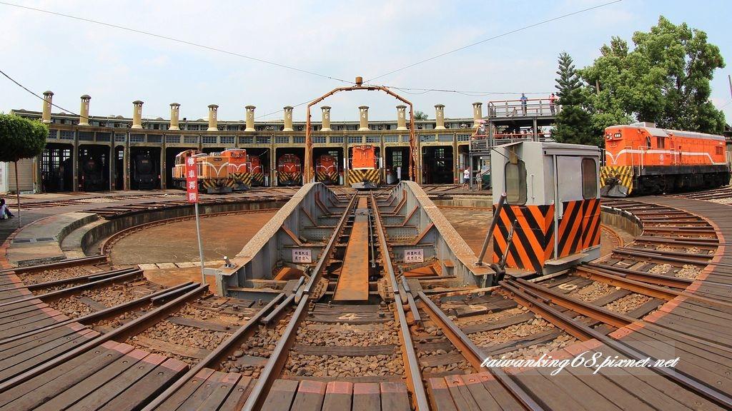 彰化扇形火車庫