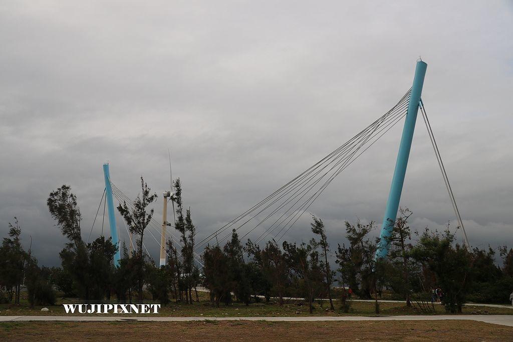 高美濕地景觀橋