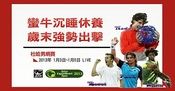 杜哈男網賽