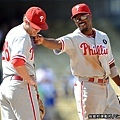 KUSO MLB 看圖說瞎話 #19 費城人Rollins & Utley