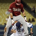 KUSO MLB #22 響尾蛇 G. Parra  & 道奇 J. Carroll