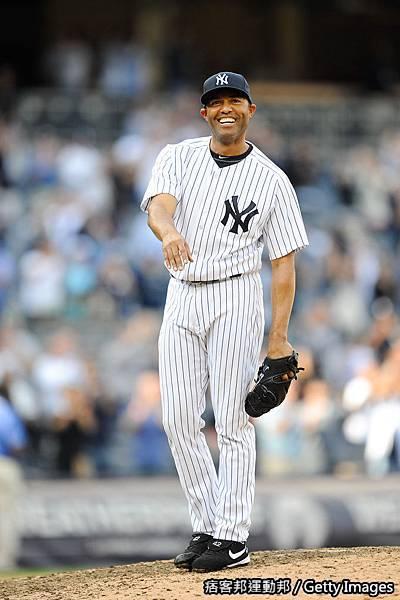 Mariano Rivera 生涯第602次救援破記錄 20110919 (5).jpg