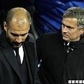 巴塞教練 Guardiola & 皇馬教練 Mourinho