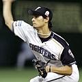 達比修有在亞洲職棒大賽冠軍戰對Lanew熊隊
