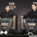 梅西(Lionel Messi) & 哈維(Xavi Hernandez)