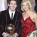 梅西(Lionel Messi) & 拉丁天后夏奇拉(Shakira)