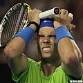Rafael Nadal 懊惱 決勝盤4-2領先 輪到自己發球卻又被破發丟掉大好江山