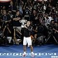 Novak Djokovic 攝影師擠滿滿