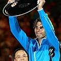 Nadal 在2011溫網 2011美網 2012澳網 連拿三個大滿貫亞軍