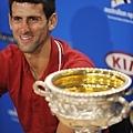 Novak Djokovic 賽後訪問