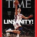 林書豪登上《TIME》時代雜誌封面人物