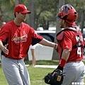 Adam Wainwright & Yadier Molina