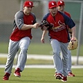 Matt Holliday , Davis Freese