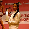 勇奪WTA馬來西亞公開賽女單冠軍 謝淑薇返國記者會 勇奪WTA馬來西亞公開賽女單冠軍 謝淑薇返國記者會