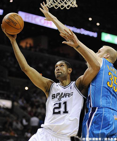 Duncan:今天的鬧鐘顯示 Playoffs are coming.
