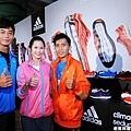 adidas ClimaCool Seduction幫助三位運動員全力以赴達成目標
