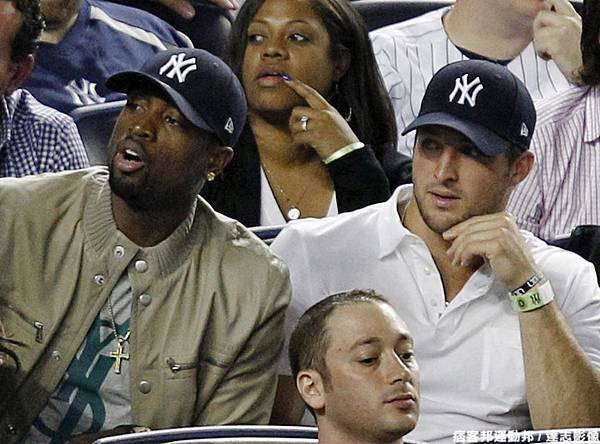 Wade到洋基球場看球