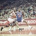 1990-91 球季--39勝43敗